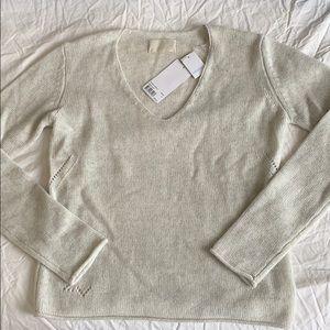 Zadig & Voltaire cashmere & lurex sweater